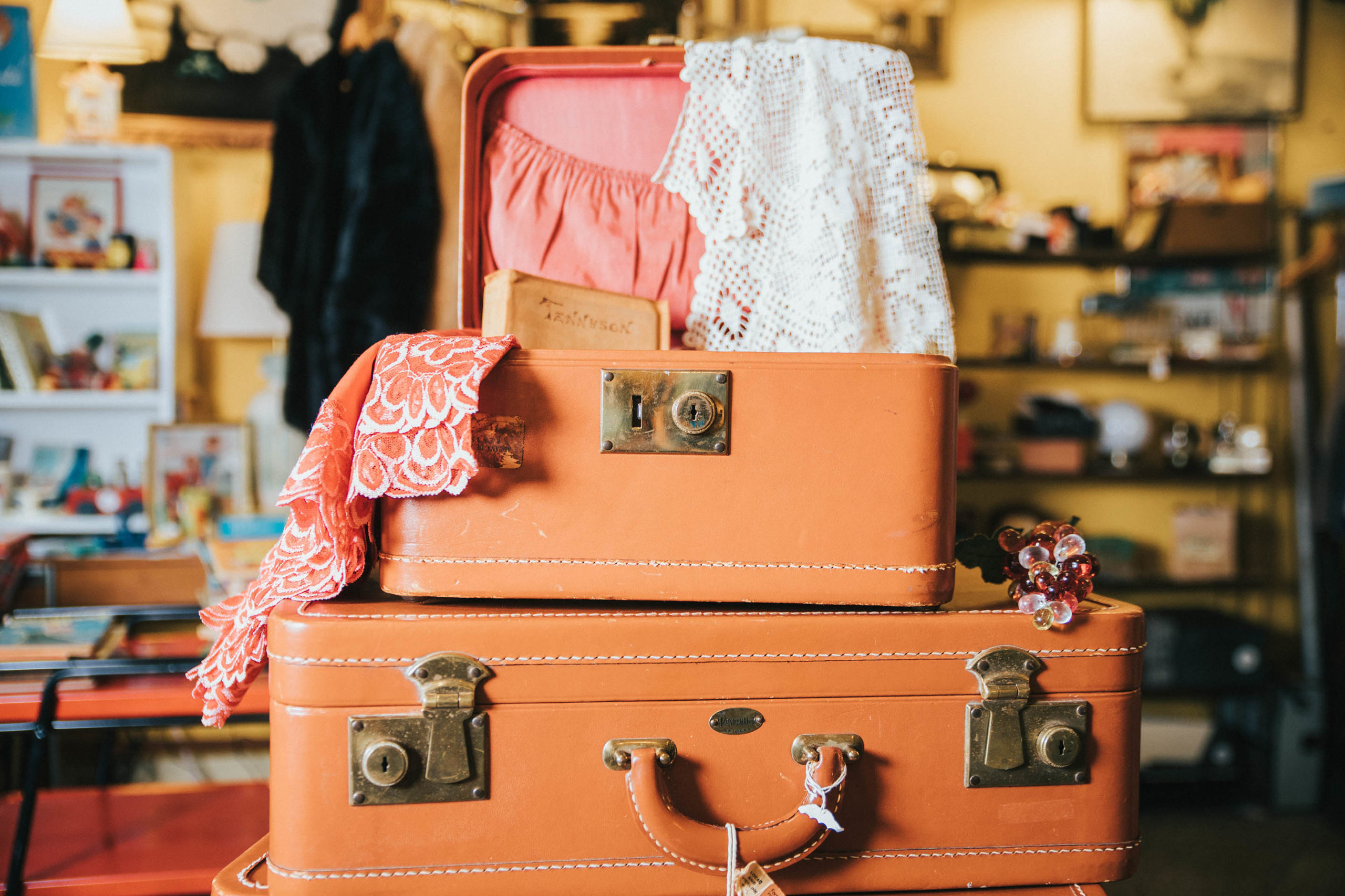 Old timey luggage